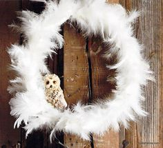 Roost Gossamer Feather Wreaths