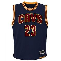 cb584678d4162 LeBron James Cleveland Cavaliers #23 Youth Alternate Jersey Navy