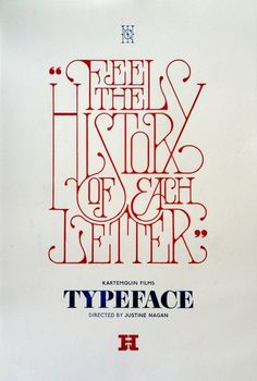 This is lovely #typography