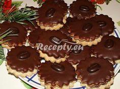 Hamburger recepty - www. Christmas Cookies, Hamburger, Sweet Tooth, Muffin, Food And Drink, Breakfast, Self, Xmas Cookies, Morning Coffee