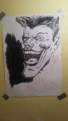 Joker . Jim lee inspired Jim Lee, Joker, Inspired, Female, Artwork, Inspiration, Art Work, Biblical Inspiration, Work Of Art