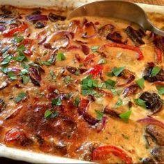 Koteletter i fad som vor italienske mama kunne have lavet dem - Food N, Good Food, Food And Drink, Yummy Food, Fish Recipes, Lunch Recipes, Dinner Recipes, Danish Food, Italian Recipes