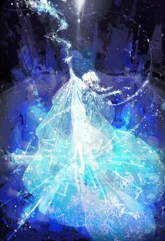 Elsa the Snow Queen.