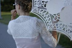 Knitting Estonian lace
