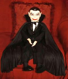Count Dracula Ventriloquist Doll by jollywolly on Etsy