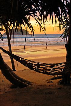 Kata Beach in Phuket, Thailand - how relaxing does that look!  Awesome reward for all that planning!