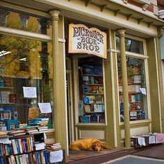 Librería antiquaria Pickwich BOOK Shop a Nyack in America.