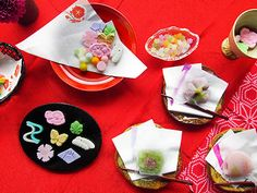 Japanese confectioneries