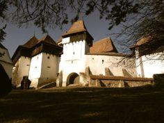 The White Church. Viscri, Romania