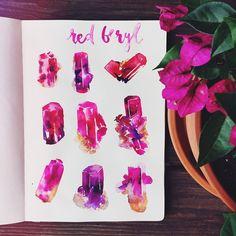 Andrea Fairservice @songdancedesign Red Beryl you are...Instagram photo | Websta (Webstagram)