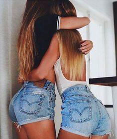 Vintage LEVI Shorts Denim Cutoff Tattered Blue 501 Distressed Highwaist High Cut Jean Shorts