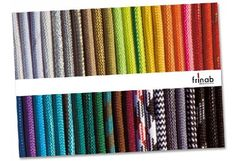 Frinab: Textile Lamp Cords from Sweden