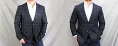 The Power of Tailoring: Before & After – UNIQLO Tweed Blazer. From dappered.com affordable men's style