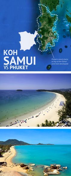 "Phuket vs Koh Samui: How to Choose? What's the Difference? Which is ""Best""? http://www.kohsamuisunset.com/samui-vs-phuket/"