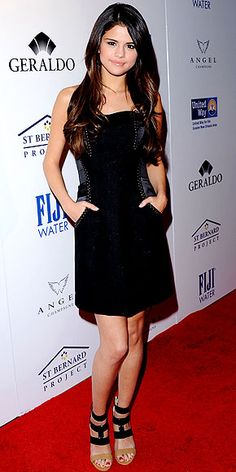 Selena Gomez at the Southern Style St. Bernard Project event in Beverly Hills.