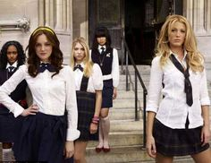 Gossip Girl: Prep school uniform is accessorised with the latest designer pieces in New York's Upper East Side
