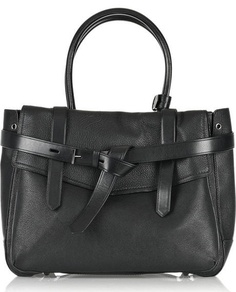 office style - Reed Krakoff black leather Boxer tote