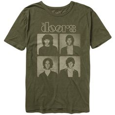 The Doors Backstage Portrait T-Shirt