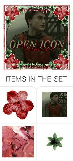 """""""open icon ;;  april ludgate"""" by the-elite-fangirls ❤ liked on Polyvore featuring art, harrypotter, openicon and forebodinqicons"""