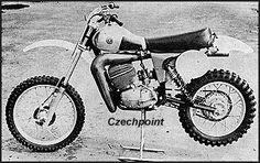 1980 CZ 412 works bike (typ 981-80)
