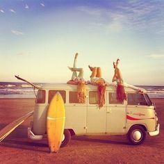 vintage beach days