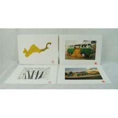 Importante album de PAULO NAZARETH , BANANA COCKTAIL , composto por 39 peças ,gravura a metal , assinadas e carimbadas 38 x 28 cm.