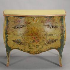 marinni   Мебель с росписью.Комоды.18-20 век.
