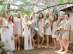 Bohemian Inspired California Wedding at Holly Farm  Read more - http://www.stylemepretty.com/2014/01/09/bohemian-inspired-california-wedding-at-holly-farm/