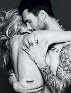 Anne V. & Adam - Vogue Russia. sorry about her but...
