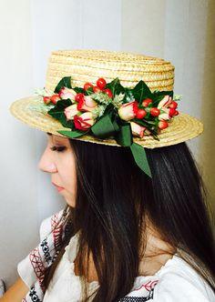 #canotier con #flores #naturales, son las que te dan la diferencia del resto!!!!!