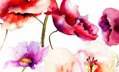 Resultado de imagen de watercolor flower images