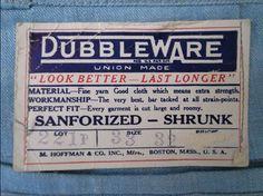 Vintge Clothing Labels