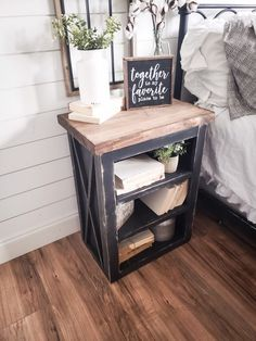 Excited to share the latest addition to my shop: Farmhouse night stand wooden nightstand Farmhouse nightstand set rustic nightstand accent table end table Farmhouse nightstand - June 23 2019 at Farmhouse Bedroom Decor, Farmhouse Furniture, Diy Bedroom, Rustic House Decor, Rustic Texas Decor, Rustic Room, Country Furniture, Bedroom Ideas, Master Bedroom