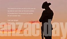 For my friends around the world, you might have noticed a little more activity on social media today from your Aussie and Kiwi mates as we all acknowledge (probably) our most important day of the year – ANZAC Day - which stands for Australian and New Zealand Army Corp.  More than a Mel Gibson movie, it commemorates the day our troops landed in Gallipoli on the other side of the world way back in 1915. Here's a little bit of insight, some memories and what it means to me xxxx