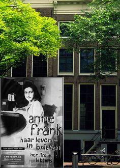 Anne Frankhuis    Prinsengracht, Amsterdam, Netherlands