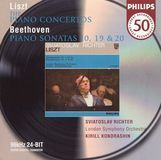 Liszt: The Piano Concertos; Beethoven: Piano Sonatas 10, 19 & 20 [CD]