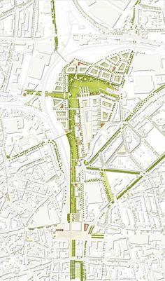 Prize: Entwurf 2000 Foz do Douro Urban Park Architecture Site Plan, Architecture Graphics, Urban Architecture, Architecture Drawings, Urban Design Concept, Urban Design Diagram, Urban Design Plan, Urban Landscape, Landscape Design