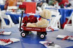 Bump Smitten: Real Baby Shower: Red, White, and Coo