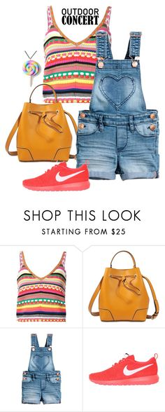 """""""60 second style. Outdoor Concert"""" by dogzprinted ❤ liked on Polyvore featuring Alice + Olivia, 3.1 Phillip Lim, NIKE, Unicorn Crafts, 60secondstyle and outdoorconcerts"""