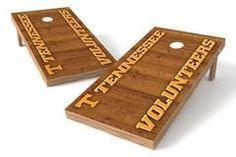 Tennessee Volunteers Single Cornhole Board - Vertical