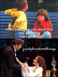 Sometimes I think of how wonderful it could if only Raoul hadn't recognized Christine...