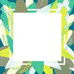 Leaves Background With White Frame. Solid Color Backgrounds, Flower Backgrounds, Wallpaper Backgrounds, Wallpapers, Background Ppt, New Background Images, Pencil Test, Polaroid Frame, Framed Wallpaper