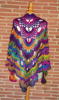 Free Crochet Pattern Orchidee : 1000+ images about CROCHET : CHALES et ETOLES (MODELES ...