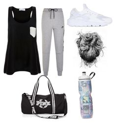 """""""The Gym"""" by ikeeva ❤ liked on Polyvore featuring Solid & Striped, NIKE and weekend"""