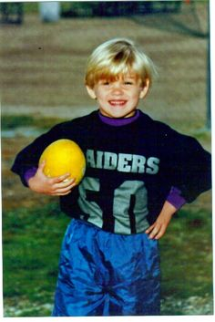 Blake in little league football
