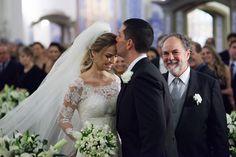 Vestido de noiva: Paula Zaragüeta Que renda maravilhosa é essa? :P