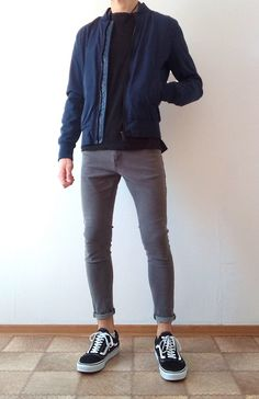 Vans old skool skinny jeans boys guys outfit vans love Super Moda, Casual Outfits, Men Casual, Herren Outfit, Boys Jeans, Mens Clothing Styles, Sneakers Fashion, Menswear, Mens Fashion