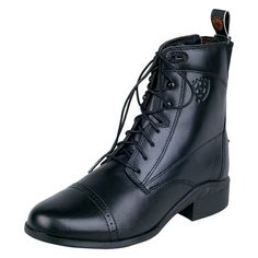 Ariat Ladies Heritage III Lace-Up Paddock Boot - Black