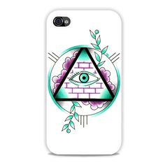 Cute Illuminati Eye iPhone 4, 4s Case