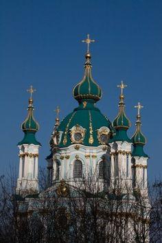 Saint Andrew's Church, Kiev, Ukraine